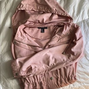 Forever 21 dusty pink spring jacket